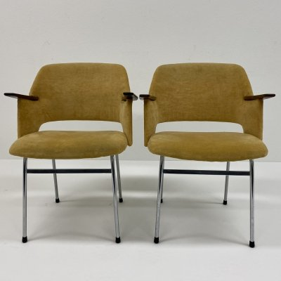 2 dining chairs 'FM33' by Cees Braakman for Pastoe, Netherlands 1962