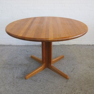Extendable Dining Table by Niels Otto Møller for Gudme, 1960s