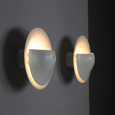 Rare pair of wall lights by Raak, 1970s