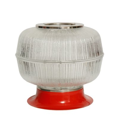 Type 8 1182 Napako Table lamp with a large glass shade, Czechoslovakia 1970s