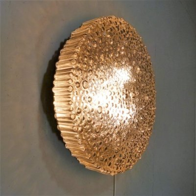 Large P111 ceiling wall lamp by Motoko Ishii for Staff, 1960's