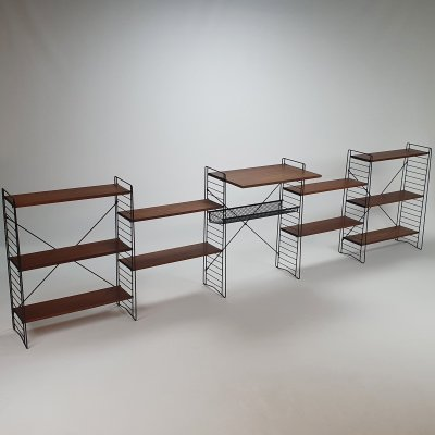 Rare Mid Century Free Standing Wall Unit by Tomado, 1960s