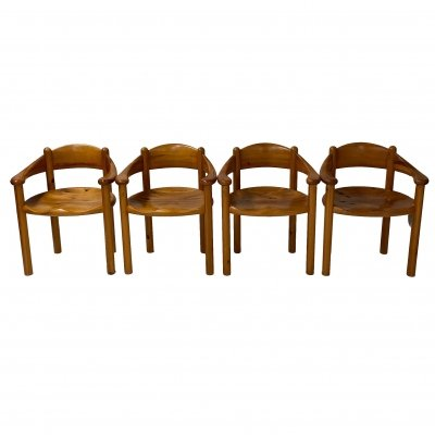 Set of 4 Danish Dining Chairs by Rainer Daumiller for Hirtshals Sawmill, 1960s