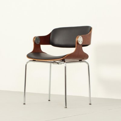 Dining or Working Chair by Eugen Schmidt, 1960s