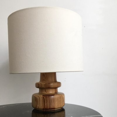 Wooden table lamp by Bestform, 1970s