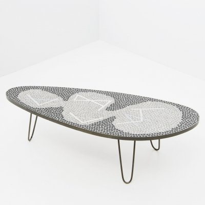 Mosaic Low Table by Berthold Muller, Germany 1960's