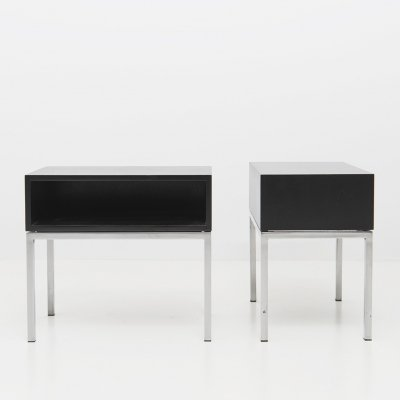 Set of Two Modernist Nightstands, 1960's