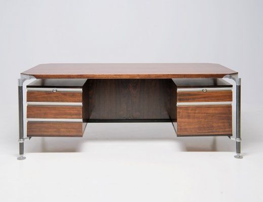 Large Executive Desk by Luisa & Ico Parisi for MIM, Italy 1960's