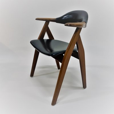 Cow horn chair, Netherlands 1950s