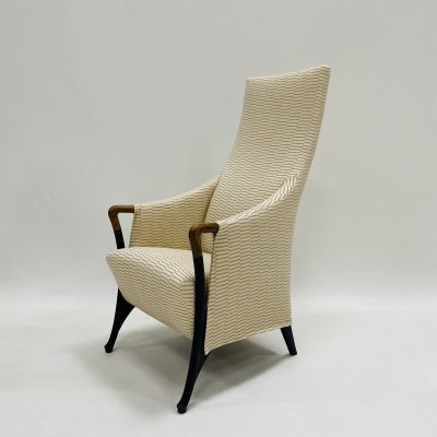 Progetti high bergère armchair by Giorgetti, Italy 1980s