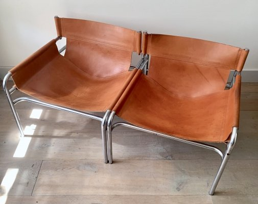 Two 'SZ13' chairs by Walter Antonis for 't Spectrum, 1971