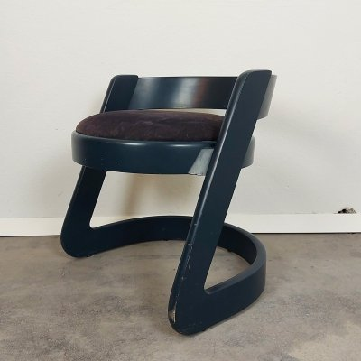 Willy Rizzo Stool for Mario Sabot, Italy 1970s