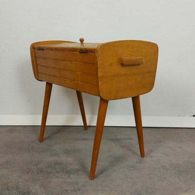 Sewing box on legs, 1960s