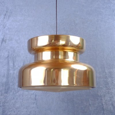 Brass plated pendant by Carl Thore for Rejmyre Armaturfabrik, 1970's