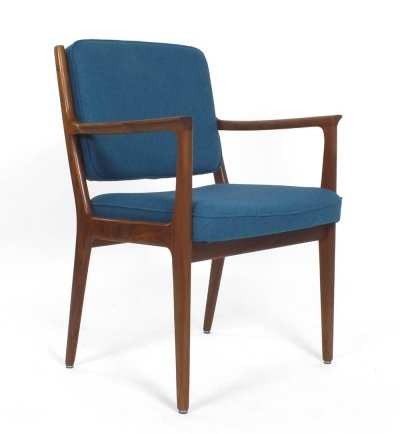 Set of 4 dining chairs by Karl Erik Ekselius for J.O. Carlsson, 1950s