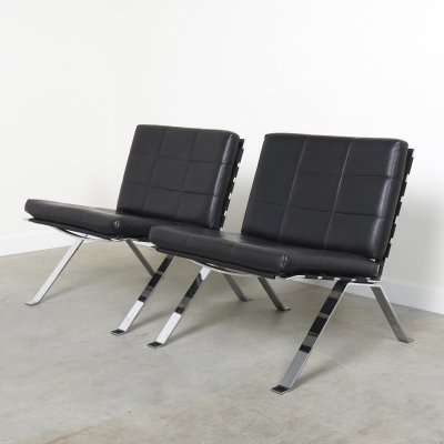 Pair of Euro chairs by Girsberger, 1960s