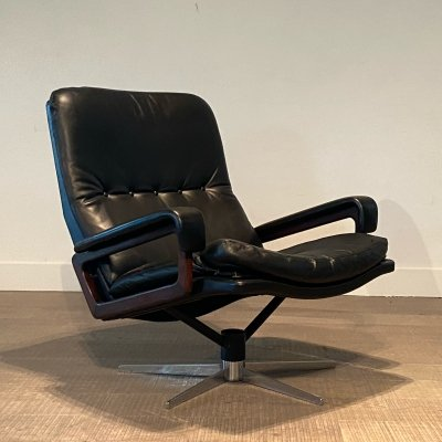 Swiss King Chair by André Vandenbeuck for Strässle, 1960s