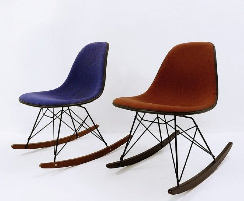Eames rocking chairs by Herman Miller, 1960s