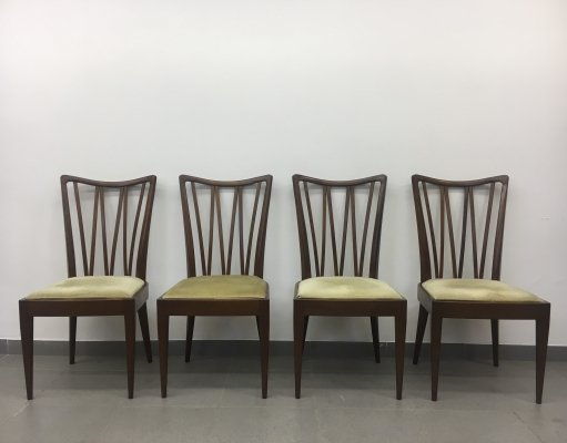 A. A. Patijn for Zijlsta Joure dining chairs, 1950's
