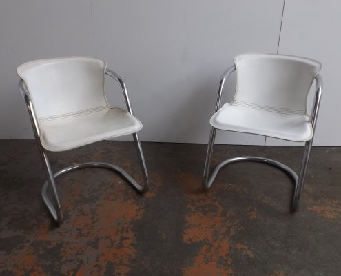 Set of 2 chairs by Metaform, 1970s