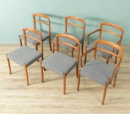 1960s dining chairs by Ole Wanscher