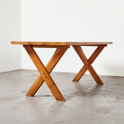 Pine Dining Table, 1970s