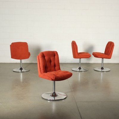 Set of four 1960s Swivel Chairs