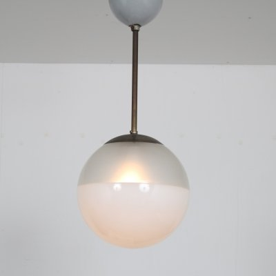 1930s Hanging lamp from the Netherlands