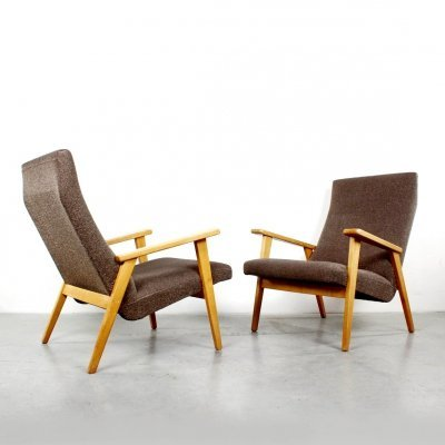 Custom made armchairs by Rob Parry for Gelderland, 1950s