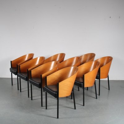 1980s 'Costes' dining chairs by Philippe Starck for Driade, Italy