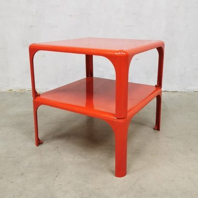 Vintage stackable tables 'Demetrio 45' by Vico Magistretti for Artemide, 1960s