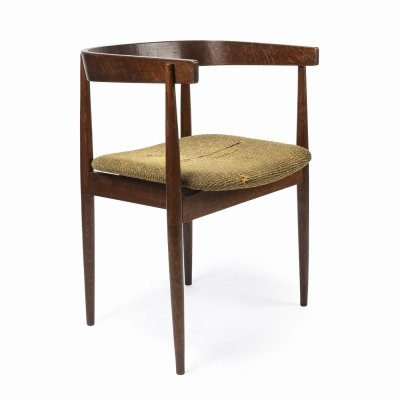 Wooden chair by TON, 1960s