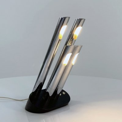 T443 Table Lamp by Mario Faggian for Luci, 1970s
