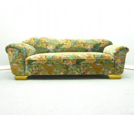 Art-Deco Daybed Sofa, 1930s