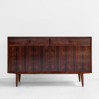 Midcentury Danish cabinet with 2 doors & 2 drawers in rosewood by Brouer, 1960s