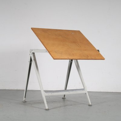 1950s Drawing table by Wim Rietveld for Ahrend de Cirkel, Netherlands
