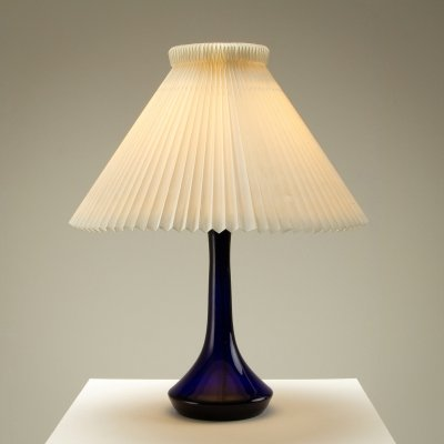 Green Glass Table Lamp by Lisbeth Brams for Kastrup