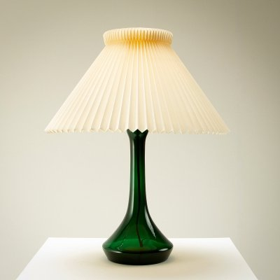 Blue Glass Table Lamp by Lisbeth Brams for Kastrup