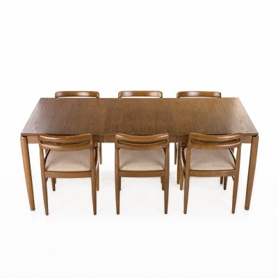 Dining set by Henry W. Klein for Bramin, 1960s