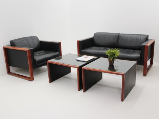 Studio seating group by Jurgen Lange for Walter Knoll, 1970s
