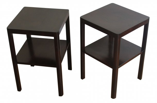 Pair of 1920's Side Tables by Thonet