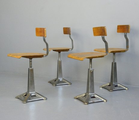 Industrial Chairs by Singer, Circa 1930s