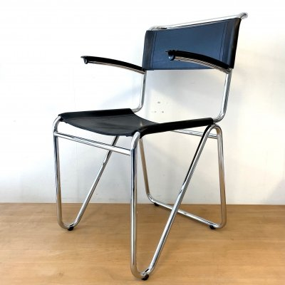 Model 203 dining chair by W. Gispen for Dutch Originals, 1990s