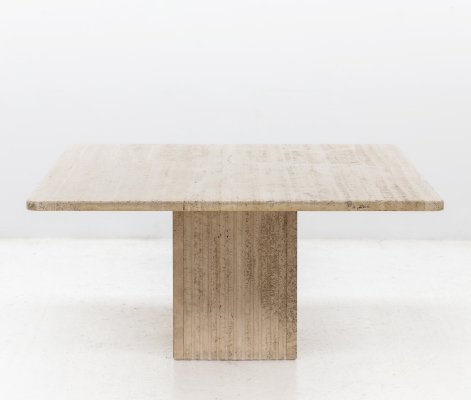 Square dining table, Italy 1970's