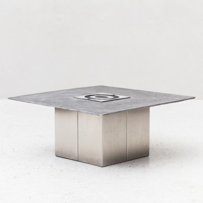 Modernist coffee table by Willy Ceysens, Belgium 1970s