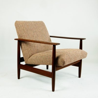 Midcentury Lounge Chair by Knoll Antimott, Germany 1960s