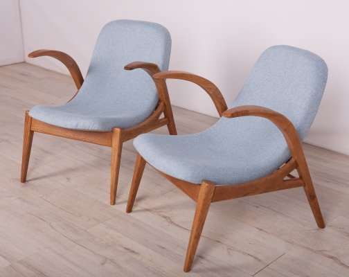 Pair of Armchairs by Uluv, 1960s