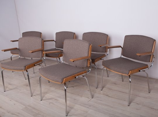 Set of 6 Conference Armchairs from Duba, 1960s