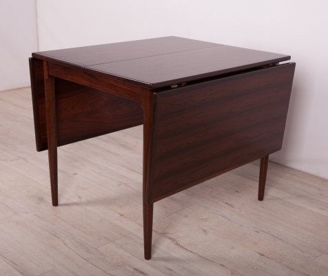 Mid century Rosewood Extendable Dining Table, 1960s