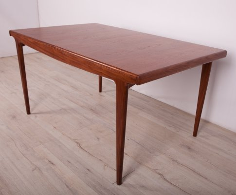 Mid Century Extendable Teak Dining Table from Younger, 1960s